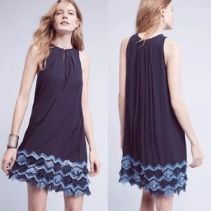 Anthropologie Maeve Festivity Swing Dress
